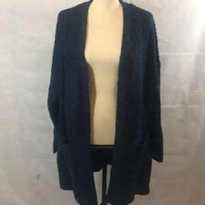 Style & Co New Blue Cardigan with Pockets